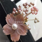 Fresh  Water Pearl Brooch/ Pins
