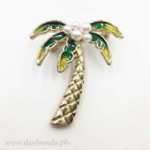 Brooch Pin (Palm Tree)