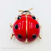 Brooch Pin (Lady Bug)