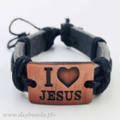 Adjustable  (  I LOVE JESUS ) Bracelet