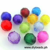 Acrylic Rough Sago (6mm) 250grams