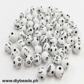 Emoji Beads Black & White