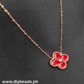 Rosegold Necklace Php130