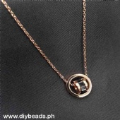 Rosegold Necklace Php 145