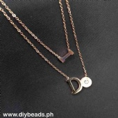 Rosegold Necklace Php160