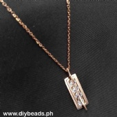 Rosegold Necklace Php140