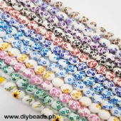 Ceramic Beads (12mm)(approx.26pcs)