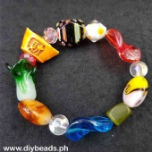 Murano Bracelet w/ charm (Money Bar)