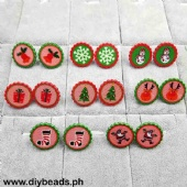 Earrings (Xmas Decor Design)
