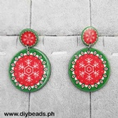 Earring (Xmas Decor Design)