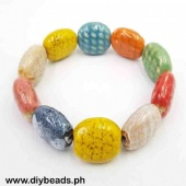 Ceramic Bracelet (Oval Flat 20mm)
