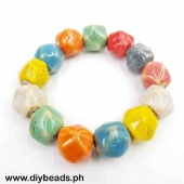 Ceramic Bracelet (Irregular Shape 17mm)