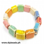 Ceramic Bracelet (Square 14mm)