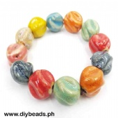 Ceramic Bracelet (Squash Design 18mm)
