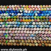 Glass Beads Asst. Color 10mm