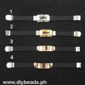 Rubberized Stainless Bracelet