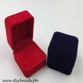 Velvet Ring Jewelry Box (6x5.5x4cm)
