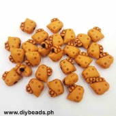 Wood Beads Hello Kitty