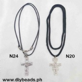 N24/N20 Necklace w/ Cross