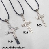 N24/N21 Necklace w/ Cross