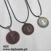 N25 Necklace w/ St. Benedict