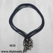N33 Leather Necklace