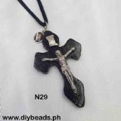 N29/N35 Necklace w/ Cross