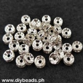 Rhinestone Spacer 8mm