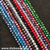 Crystal Round 8mm (Approx. 72pcs)