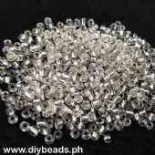 Glass Seed Beads Transparent Clear 350grams