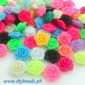 Flower Flat for Headband (250 grams Small) 3 leaf