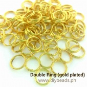 Double Jump Ring Gold