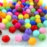 Acrylic Assorted Beads (8mm) 250g